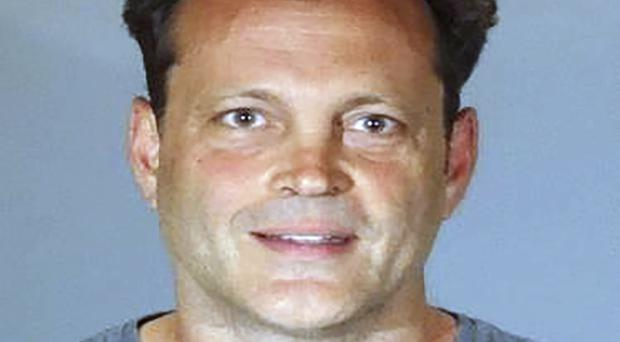 Police released a photo of Vince Vaughn after his arrest (AP)