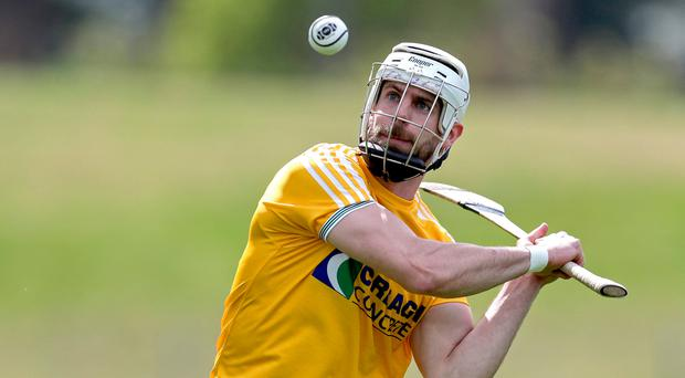 In form: Neil McManus scored 17 points for Antrim