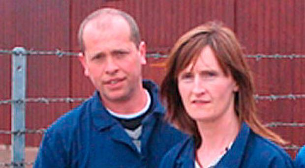Gerard Collins with his wife Claire
