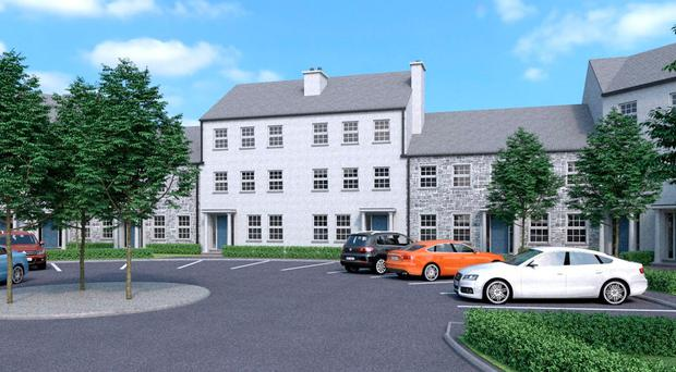 Fully furnished show homes at 'The Rocks' in Portrush