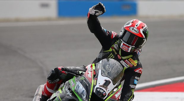 Leading light: Jonathan Rea has signed a new two-year deal