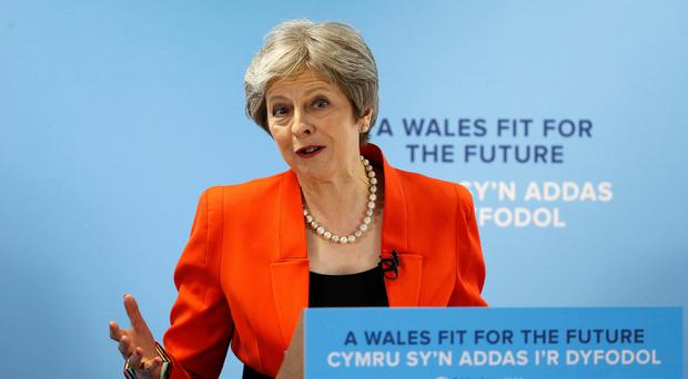 Theresa May warned senior ministers in her Cabinet that defeat on a series of Lords amendments over the next two days would undermine the Government (Andrew Yates/PA)