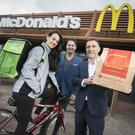 The McDelivery service has launched in Belfast