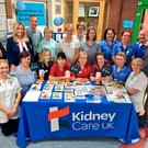 Informative day: Daisy Hill's Renal Team at the roadshow with NI Kidney Care ambassador Jo-Anne Dobson, advocacy officer William Johnston, Andrew Cromwell and Mark Dobson