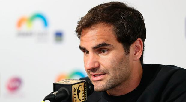 Refreshed: Roger Federer is back following a break