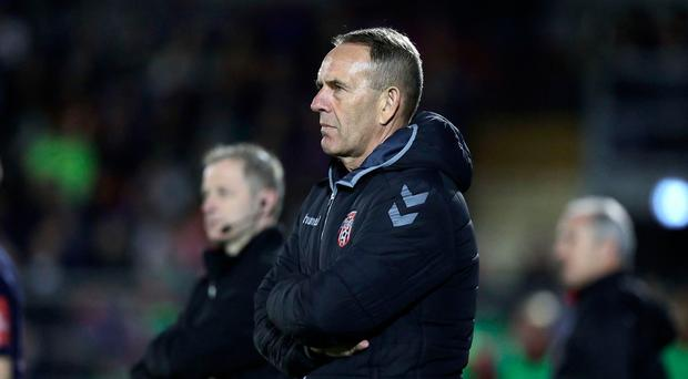 Mind games: Kenny Shiels says Dundalk manage the officials