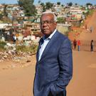 News royalty: Veteran broadcaster Sir Trevor McDonald in South Africa