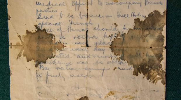 Historic: letter from the Somme