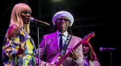 Nile Rodgers & Chic performing at the first night of Belsonic 2018. Friday 15th June 2018. Picture by Liam McBurney/RAZORPIX