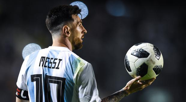 In spotlight: Lionel Messi knows this could be his last chance to emulate Diego Maradona and lift the World Cup for Argentina