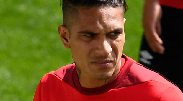 Free to play: Paolo Guerrero trains with Peru