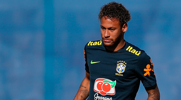 Top talent: Neymar could be the hero for the Samba Boys