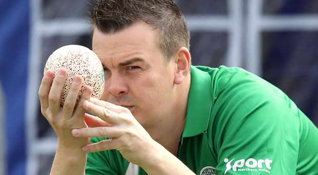 In line: Barry Kane is targeting a shock win for Dunluce
