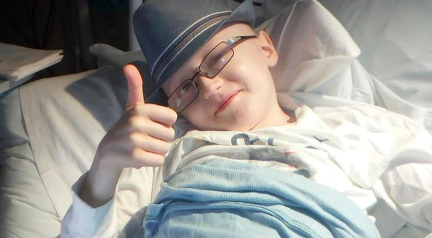 Finn Clancy, who has a rare form of cancer, is appealing for more followers for his YouTube channel