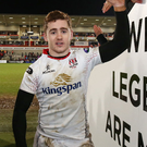 Moved on: Stuart Olding and Paddy Jackson are now in France after having their IRFU deals revoked in April
