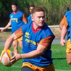 Perpignan's Irish flyhalf Paddy Jackson, former Ulster player, takes part in a training session with teammates. Pic: AFP PHOTO / RAYMOND ROIGRAYMOND ROIG/AFP/Getty Images