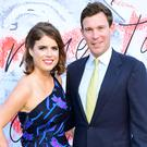 Princess Eugenie and Jack Brooksbank attend the Serpentine Summer Party (Ian West/PA)