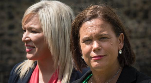 Mary Lou McDonald's comments come amid an ongoing impasse between the EU and UK on how to avoid a hard border post-Brexit (Stefan Rousseau/PA)