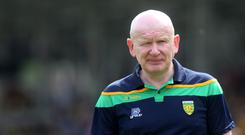 New challenge: Declan Bonner is plotting the downfall of Fermanagh