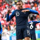 Kylian Mbappe got the only goal for France