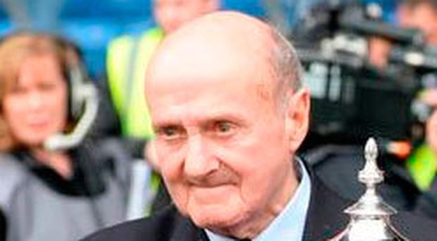 Former Rangers striker Johnny Hubbard