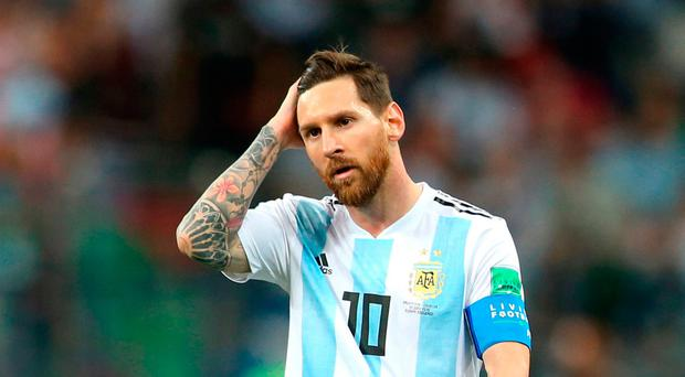 Head scratcher: Lionel Messi and Argentina are on the verge of elimination
