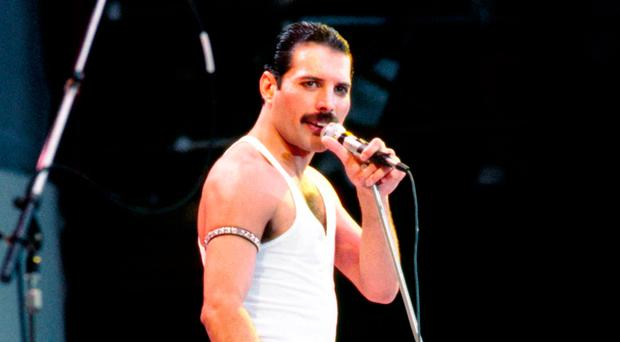 Queen's legendary singer Freddie Mercury