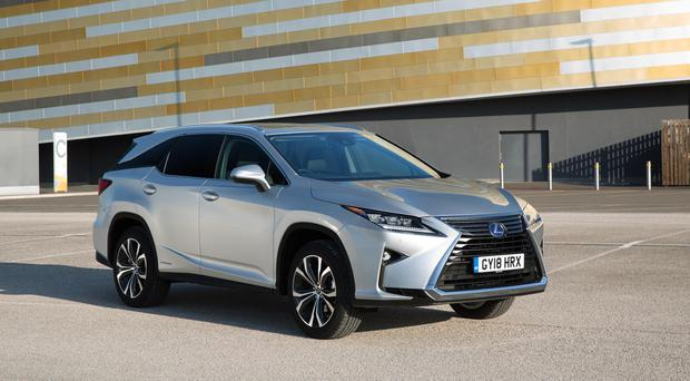 The new Lexus RX L.