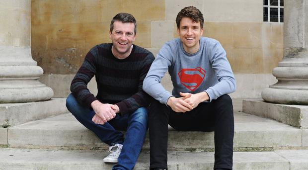 Chris Smith and Greg James
