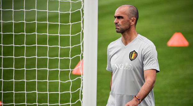 Success driven: Belgium boss Roberto Martinez should be thinking about World Cup glory