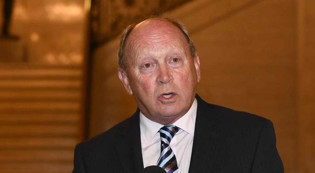 TUV leader Jim Allister has questioned Mrs Foster's attendance at the event