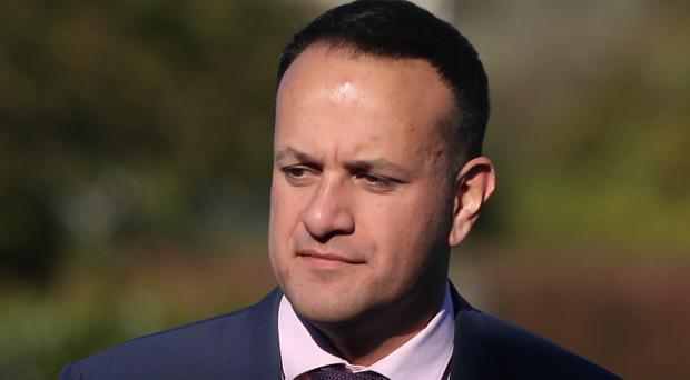 Leo Varadkar said he was 'a little bit disappointed' by Mary Lou McDonald's position (Niall Carson/PA)