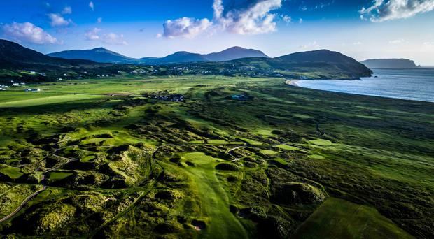 An overview of Ballyliffin Golf Club