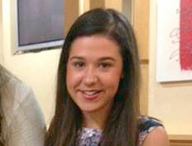 Lesley-Ann McCarragher (19), who died when she was struck by a car driven by Nathan Finn as she was jogging