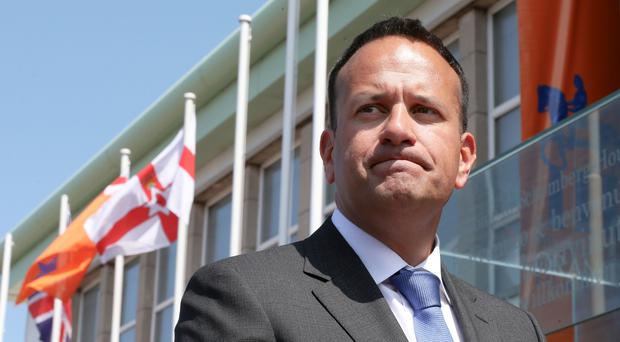 Leo Varadkar publicly warned his British counterpart against compromising or cherry-picking elements of the EU's four freedoms (Laura Hutton/PA)