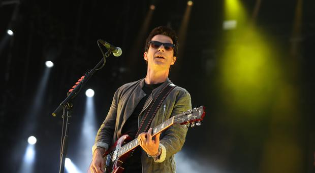 Kelly Jones from Stereophonics performs on the main stage at the TRNSMT festival at Glasgow Green. (Andrew Milligan/PA)