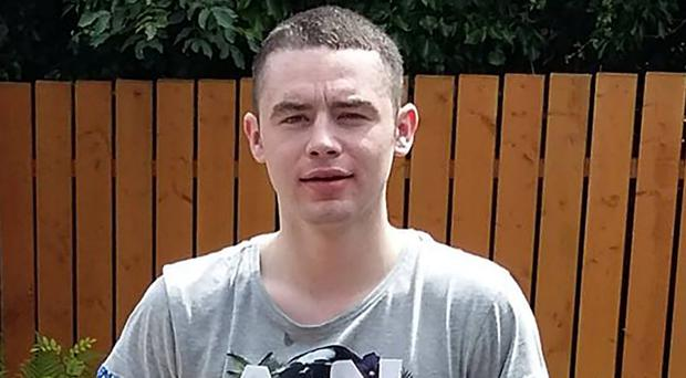 21-year-old Jordan Snoddy (pictured) has been charged with murder and possession of an offensive weapon in relation to the death of a man in north Belfast.