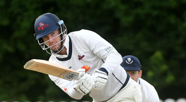 Ton up: James McCollum scored a century for Northern Knights