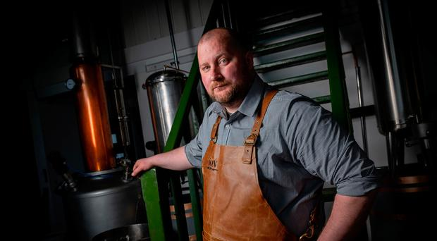 Darren Nugent, the co-founder of Ion Distillery