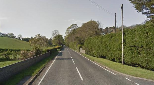 The incident happened on the Killyleagh Road, Killinchy. Pic: Google Maps