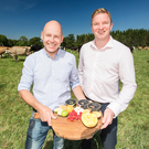 Bryan Boggs (left), general manager at Clandeboye Estate, and Tesco Northern Ireland buyer Jonathan McWhinney