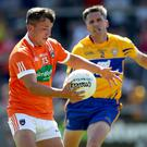 New blood: Ryan McShane is currently helping to bring a fresh verve to the Armagh attack