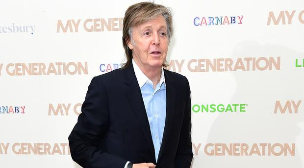 MEPs have rejected EU copyright law changes backed by Sir Paul McCartney (Ian West/PA)