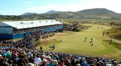 Ballyliffin's Glashedy Links has held its own on day one of the Irish Open.