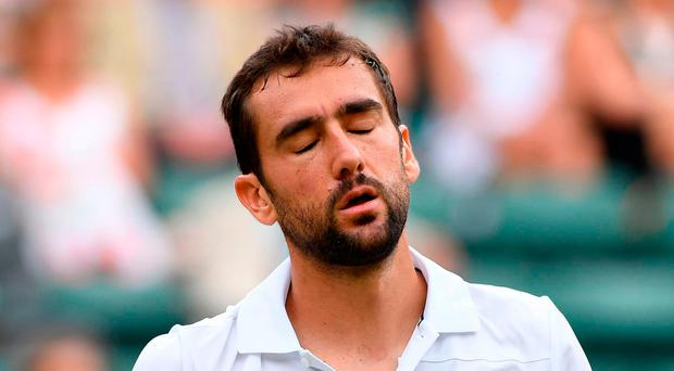 Early departure: Marin Cilic