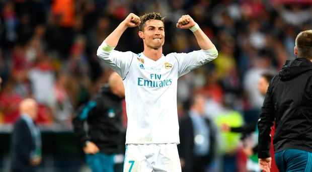 Wanted man: Cristiano Ronaldo could leave Real Madrid for Juventus in an £88m deal