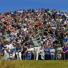 Alan Lewis - PhotopressBelfast.co.uk 5/7/2018 Mandatory Credit - Picture by Justin Kernoghan Rory McIlroy teeing off the 8th at the Dubai Duty Free Irish Open at Ballyliffin - Rory McIlroy has started his bid for a second Irish Open success alongside Matt Fitzpatrick and Thorbjon Olsen at the Ballyliffin links in Donegal. The 2016 champion and four-time major winner goes out with Englishman Fitzpatrick and Danish player Olesen in the opening two rounds. Last year's winner Jon Rahm tees off with Rafa Cabrera Bello and former US Open champion Graeme McDowell. Shane Lowry, winner in 2009, is grouped with Lee Westwood and Thomas Pieters.