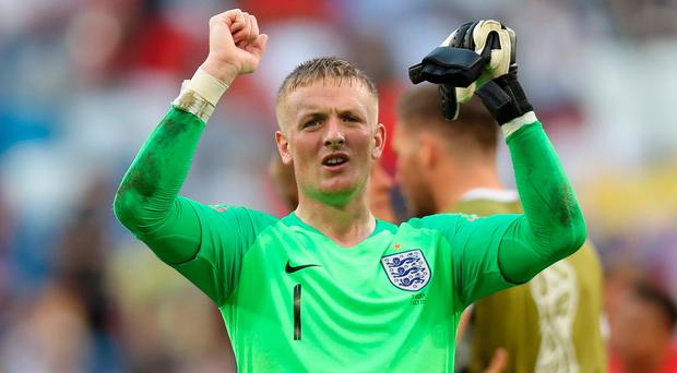 Jordan Pickford has shone at the World Cup finals, helping to see England through to the semi-finals.