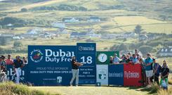 Graeme McDowell will play with Paul Dunne on Sunday at the Irish Open.