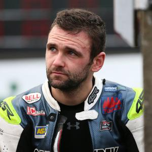 William Dunlop on the start line for practice at the Classic TT last year PICTURE BY STEPHEN DAVISON, PACEMAKER